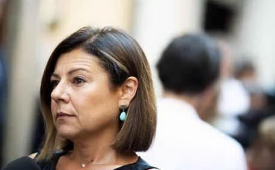 il ministro delle infrastrutture paola de micheli