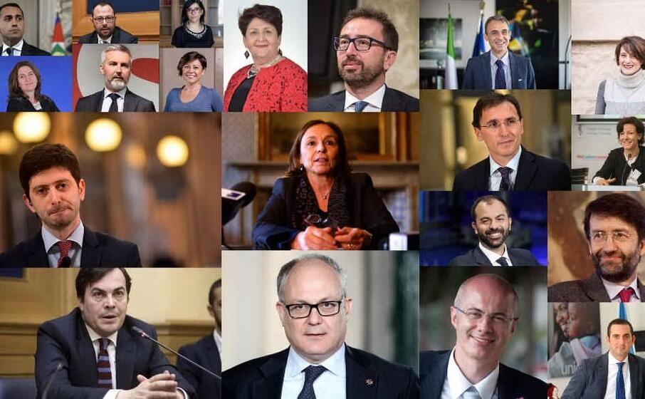 tutti i volti del nuovo governo conte