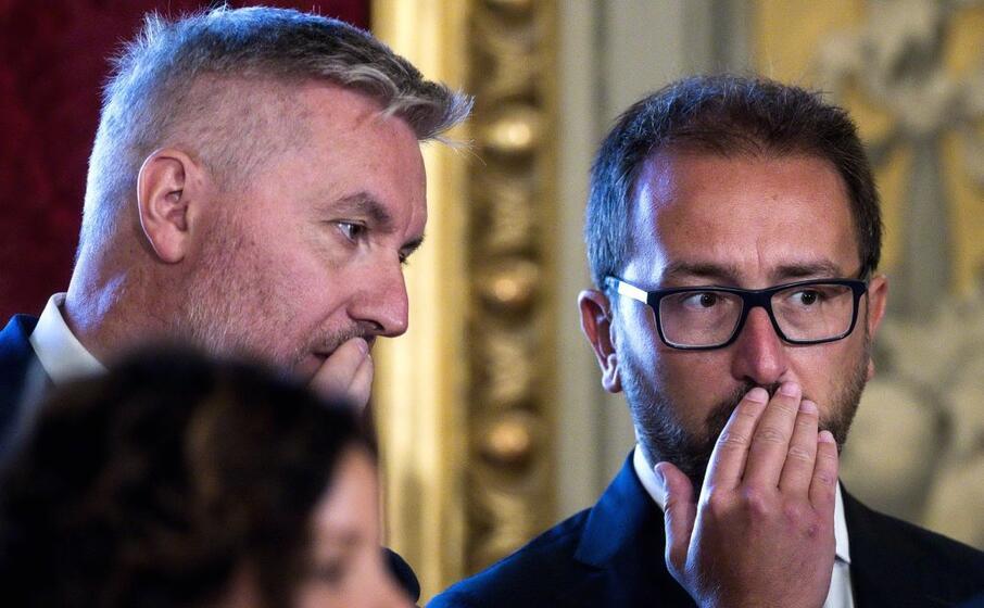 bonafede col nuovo ministro della difesa lorenzo guerini