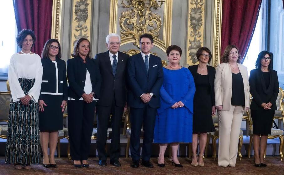 la foto con tutte le donne ministro