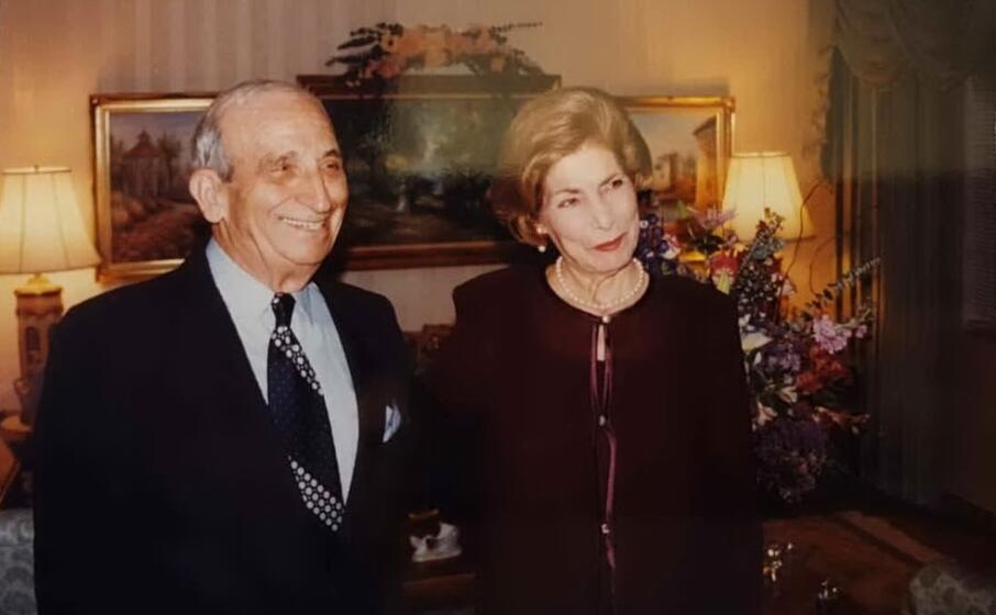 rosina e suo marito nella loro casa a miami (foto l unione sarda tellini)