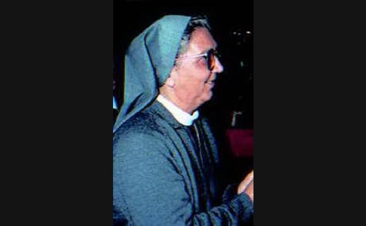 la religiosa appartiene all ordine delle missionarie della consolata (archivio l unione sarda)