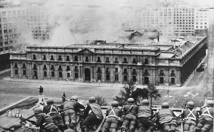 accaddeoggi 11 settembre 1973 colpo di stato in cile (archivio l unione sarda)