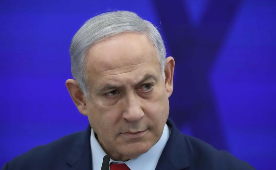il primo ministro israeliano benjamin netanyahu (ansa)