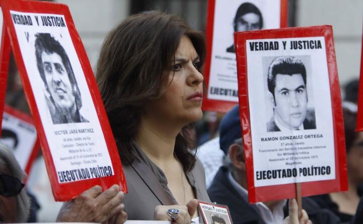 una marcia in memoria del golpe