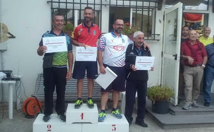 i 4 classificati al torneo regionale di borore (foto l unione sarda nachira)