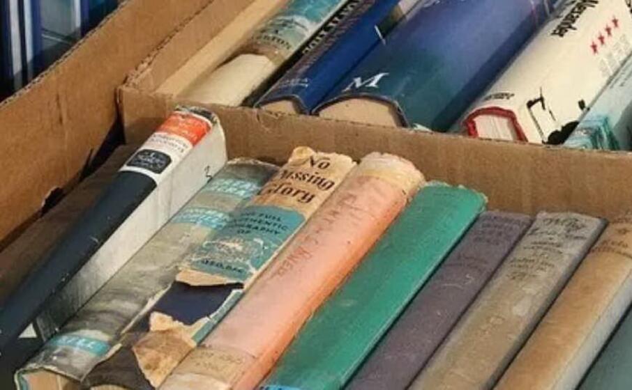 libri usati (foto l unione sarda pala)