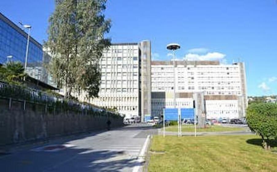 la 40enne ricoverata a catania (foto ospedale cannizzaro)