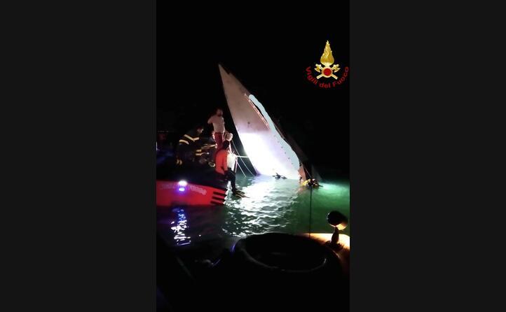 il recupero della barca