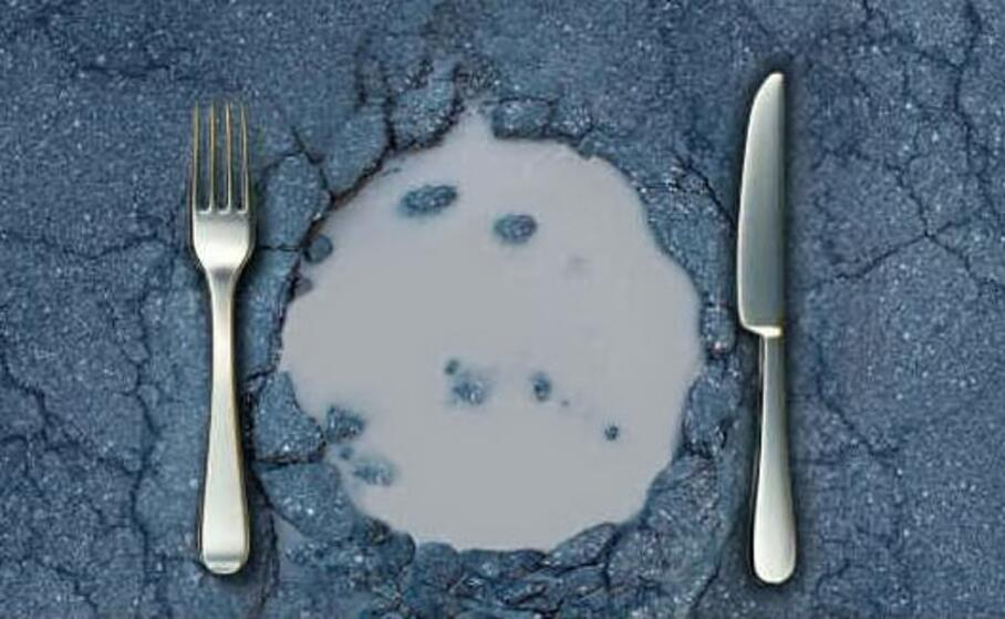 immagine simbolo (foto un pasto al giorno)