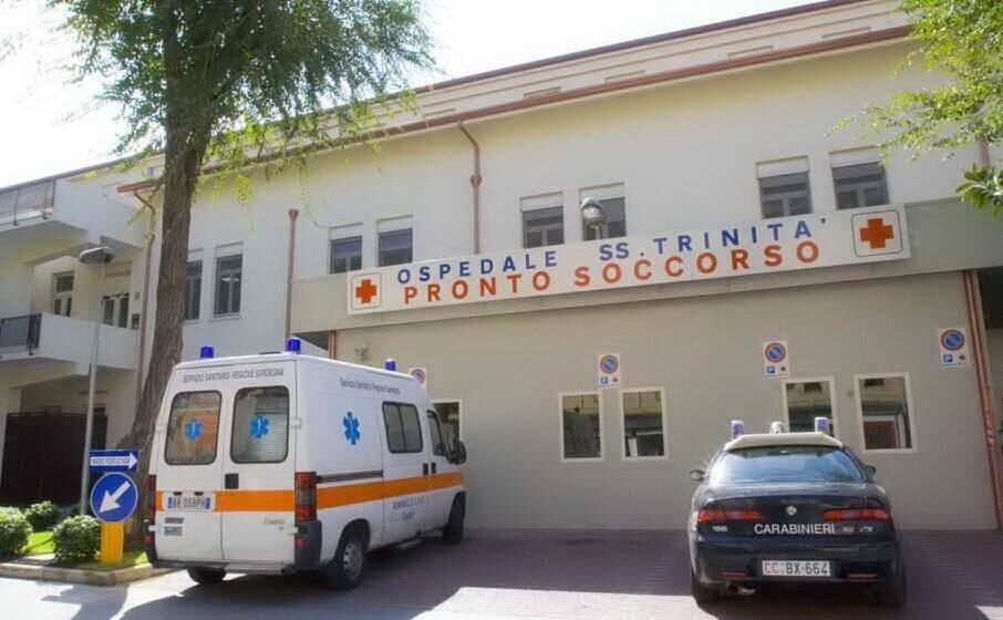 l ospedale santissima trinit (archivio l unione sarda)