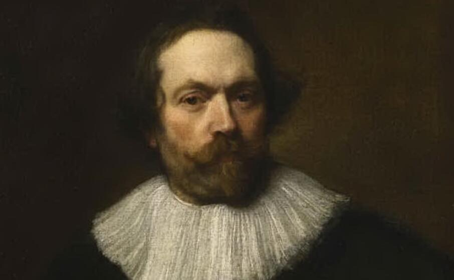 l uomo con la barba di van dick