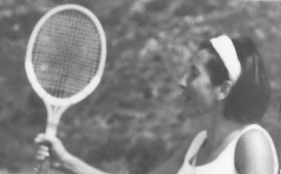 francoise fadda negli anni sessanta (foto l unione sarda carta)