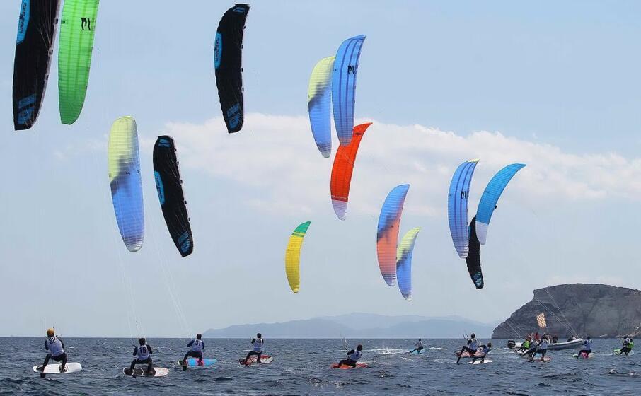 kite surf (archivio l unione sarda)