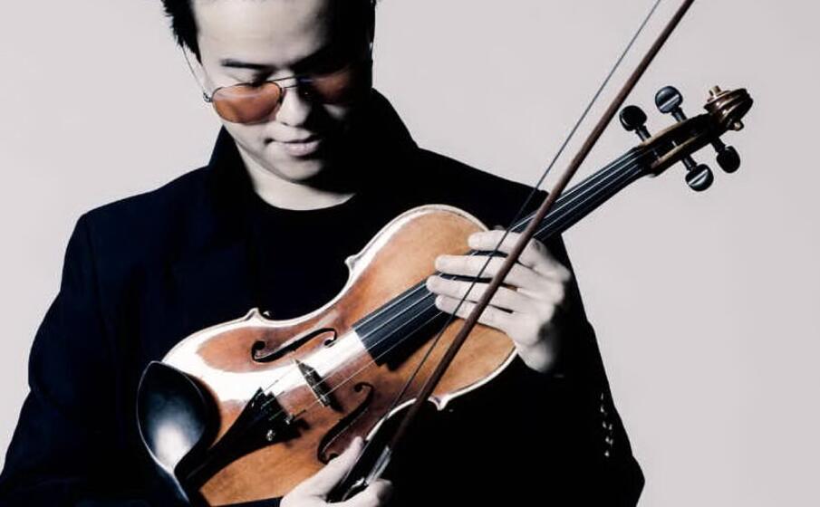 il violinista (foto costa smeralda classic music festival)