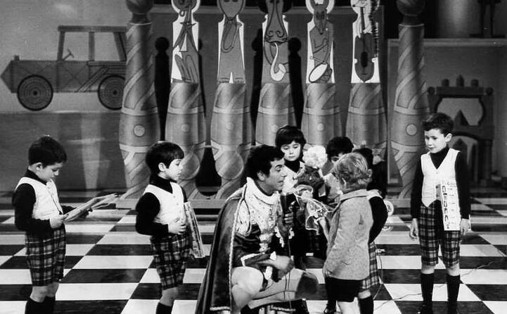 accaddeoggi 24 settembre 1959 va in onda la prima puntata dello zecchino d oro