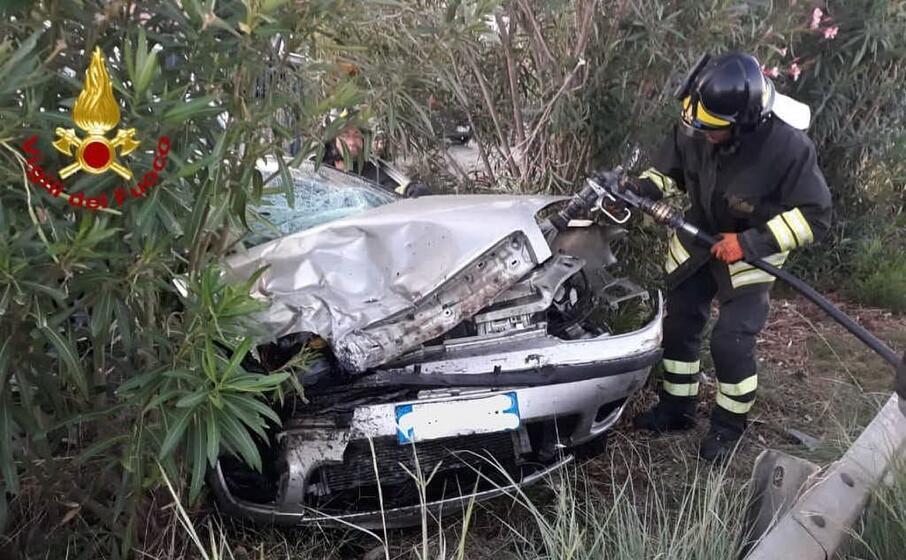 grave incidente sulla provinciale 2 (foto vdf)