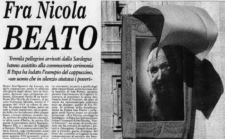la notizia su l unione sarda del 3 ottobre 1999