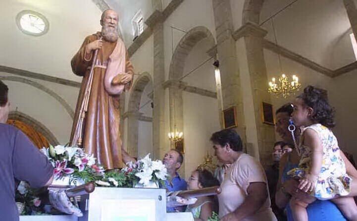 un immagine della sua festa a gesturi (archivio l unione sarda)