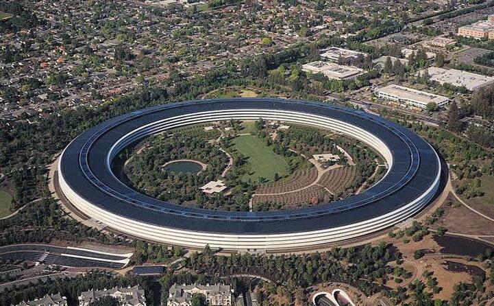 l apple park a cupertino (foto wikipedia)