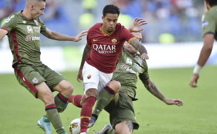 roma cagliari le immagini della partita