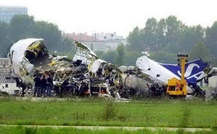 accaddeoggi 8 ottobre 2001 il disastro aereo di linate