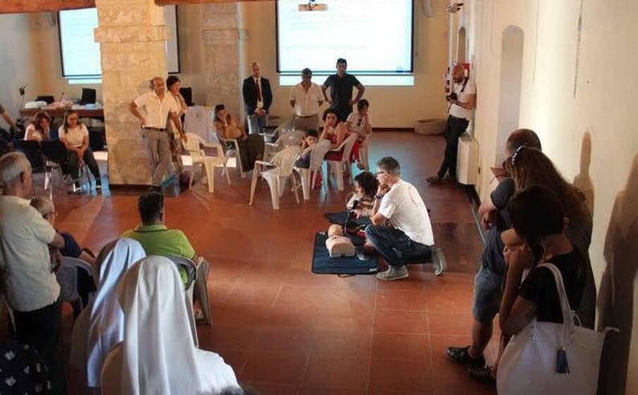 una delle iniziative sulla prevenzione (l unione sarda pintori)