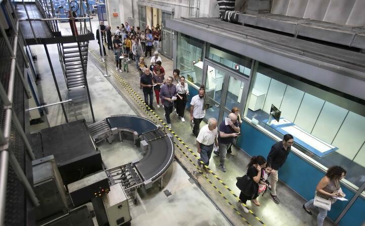 il centro stampa sede delle celebrazioni