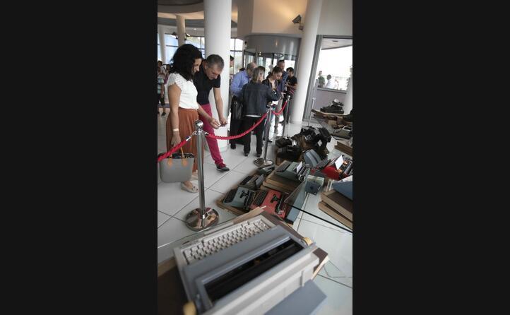 le antiche macchine da scrivere