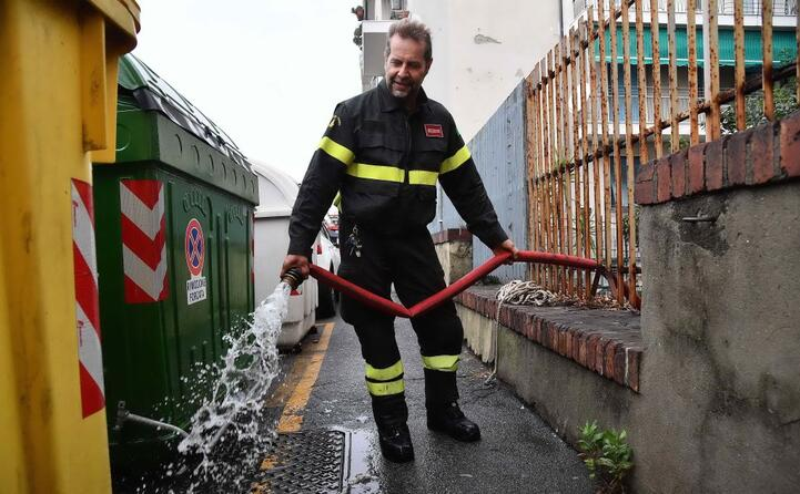 numerosi gli interventi dei vigili del fuoco