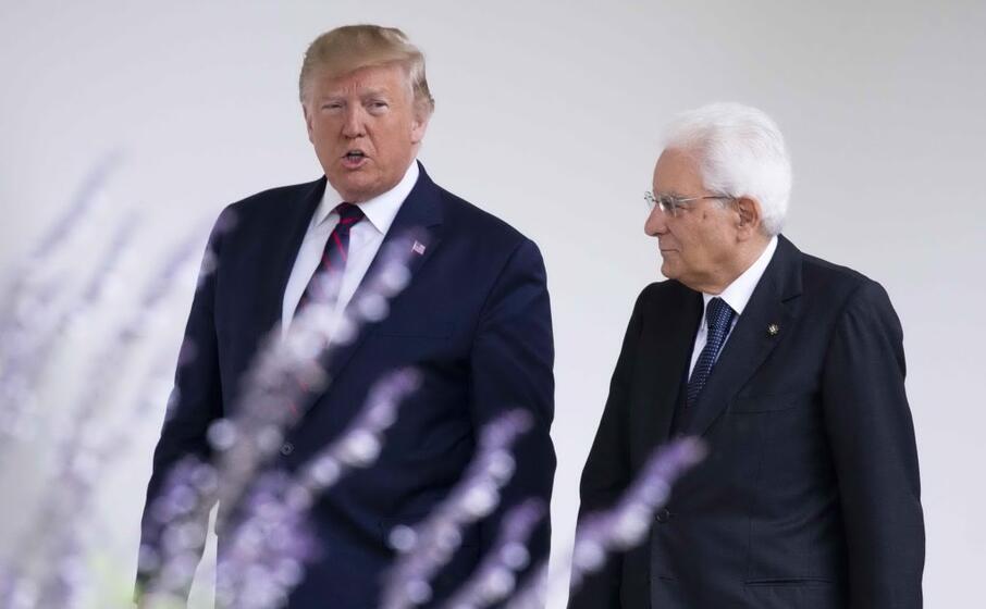 il presidente americano lo ha accolto alla casa bianca