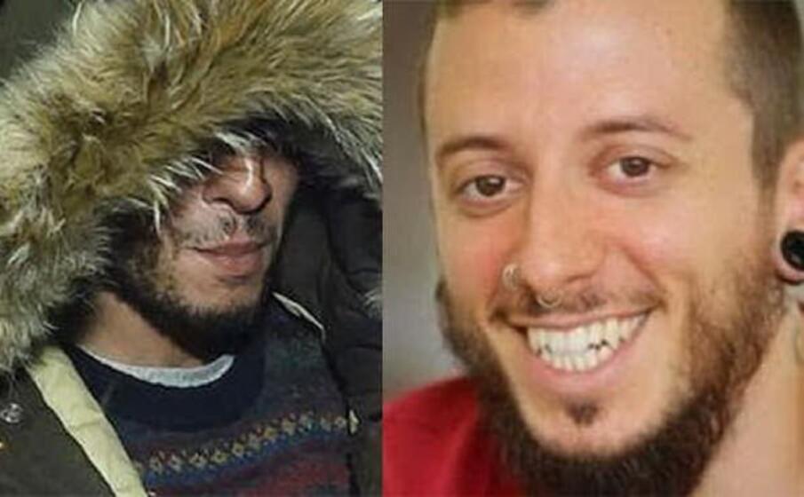 a sinistra il killer a destra stefano leo