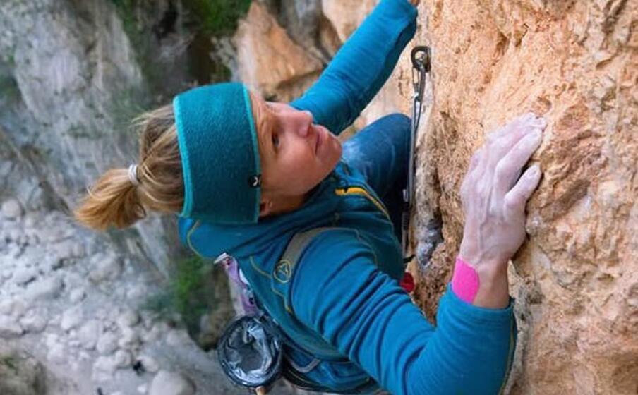 durante la scalata