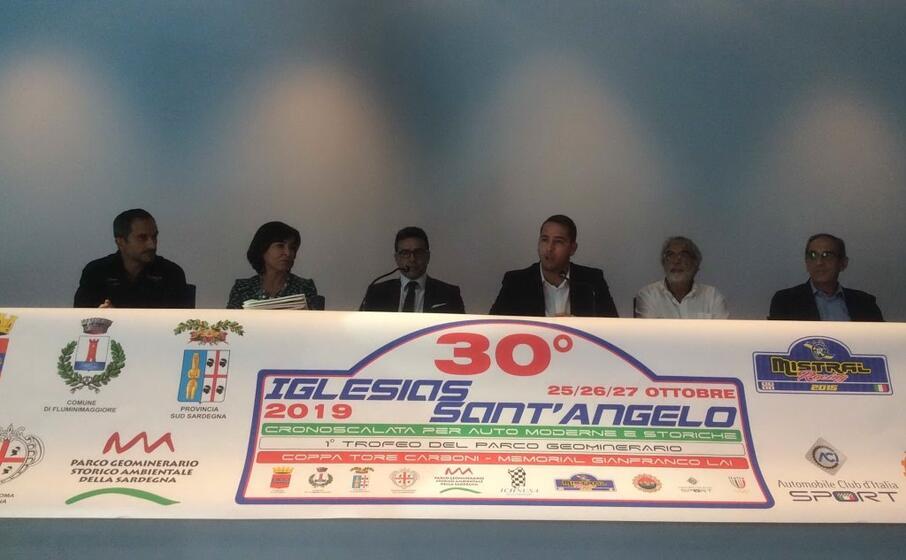 la presentazione dell evento (foto l unione sarda chessa)