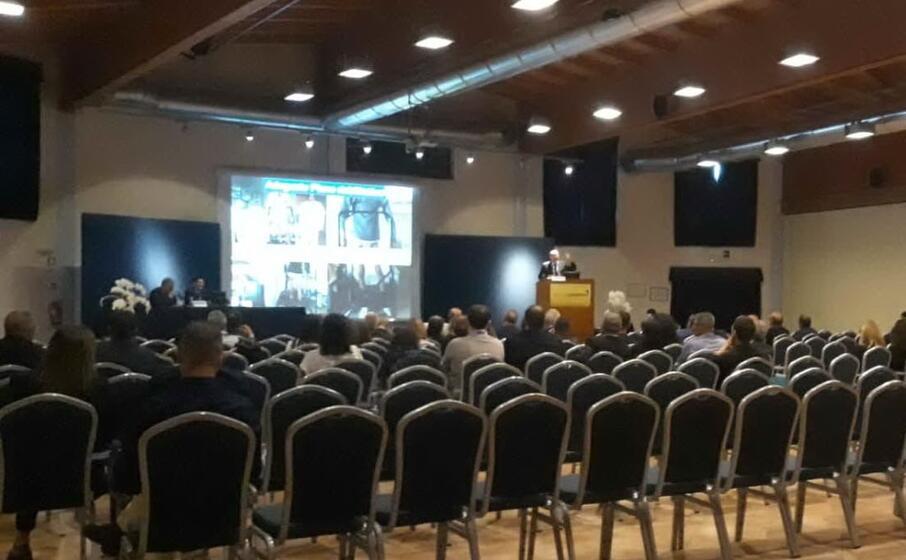 un momento del congresso di arborea (foto l unione sarda sanna)