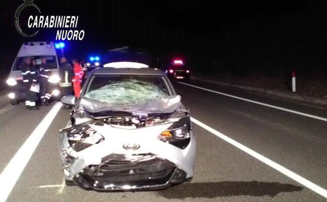 l incidente (foto carabinieri)