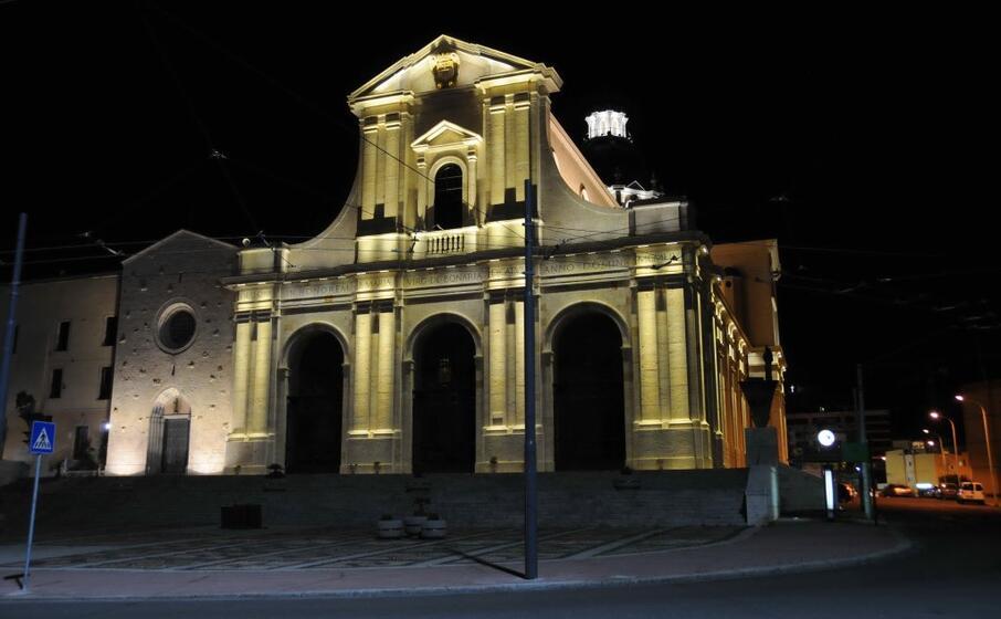 la chiesa di bonaria (archivio l unione sarda)