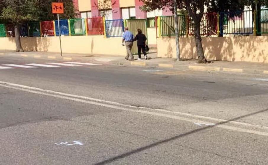 via pacinotti dove avvenuto l incidente (foto l unione sarda simbula)