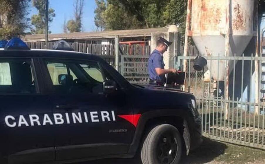 la pattuglia (foto carabinieri)