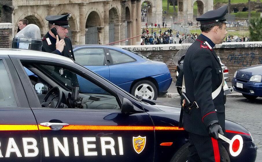 carabinieri al colosseo (archivio l unione sarda)
