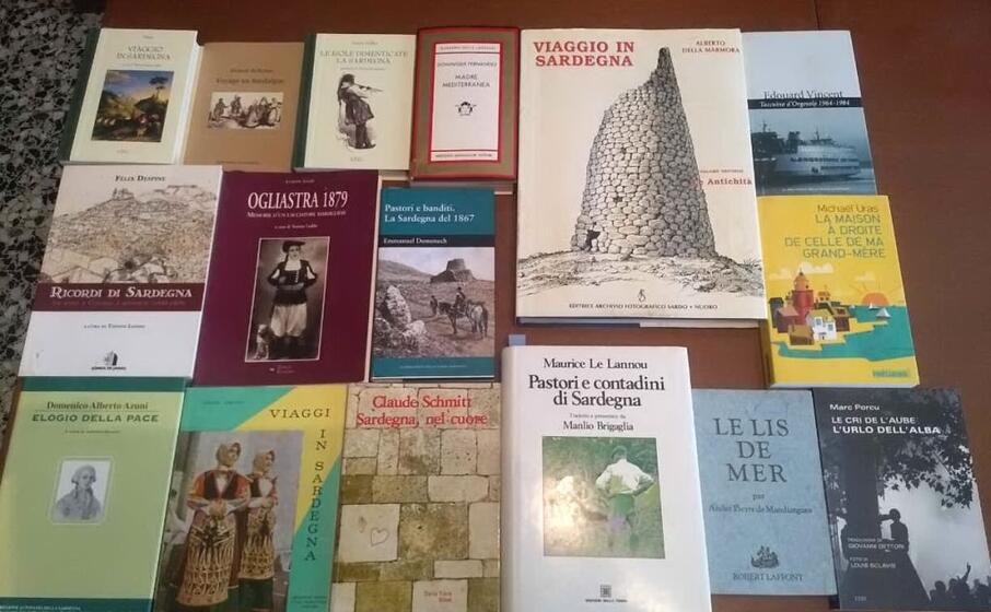 libri di studiosi sardi sulla sardegna (foto fornita dagli organizzatori)
