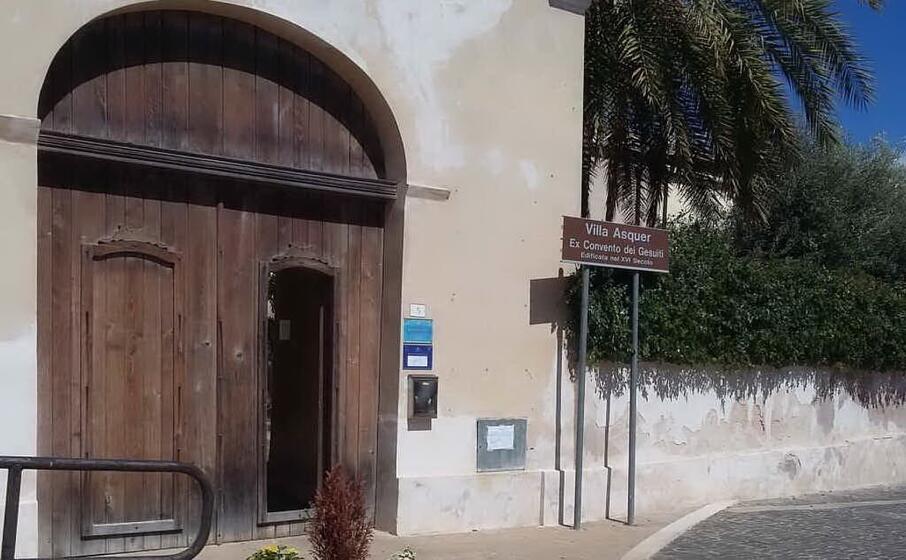 villa asquer sede delle riunioni del consiglio comunale (l unione sarda farris)