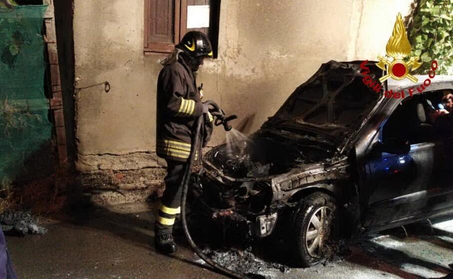 l intervento (foto vigili del fuoco)