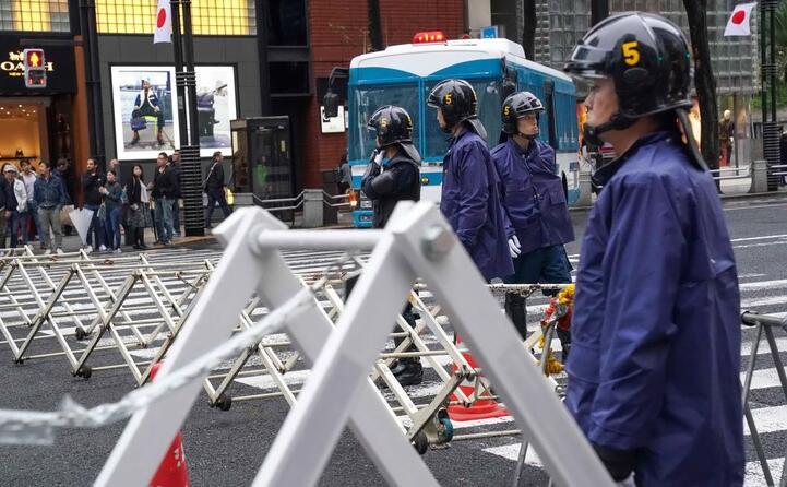 massima sicurezza a tokyo