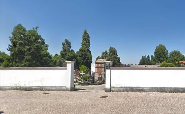 l ingresso del cimitero di monza (foto google maps)