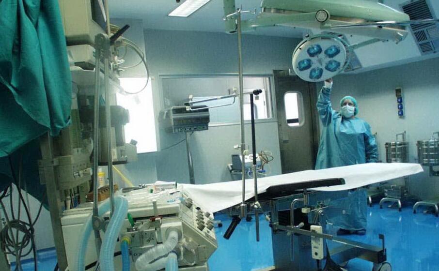 sala operatoria al sirai (archivio l unione sarda mundula)