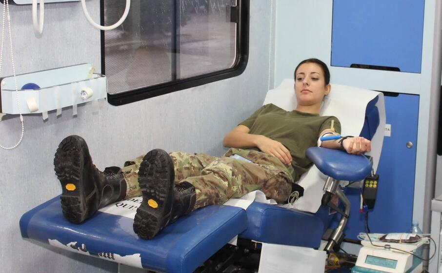 a organizzarla i militari del battaglione trasmissioni gennargentu