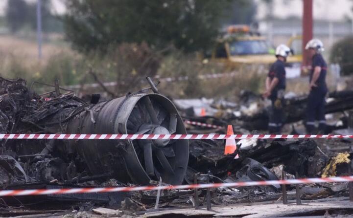 i resti del tragico incidente avvenuto nel 2000