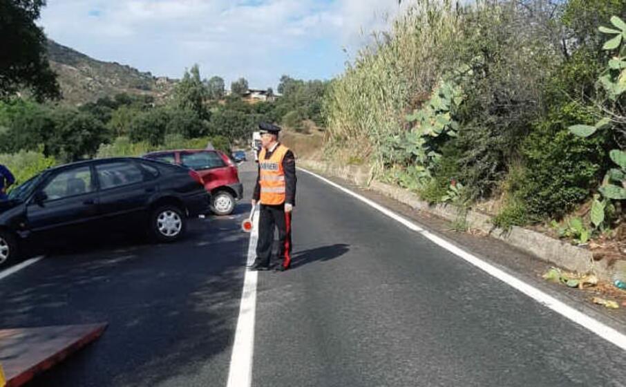 l incidente sulla statale 196 in territorio di guspini (l unione sarda pintori)