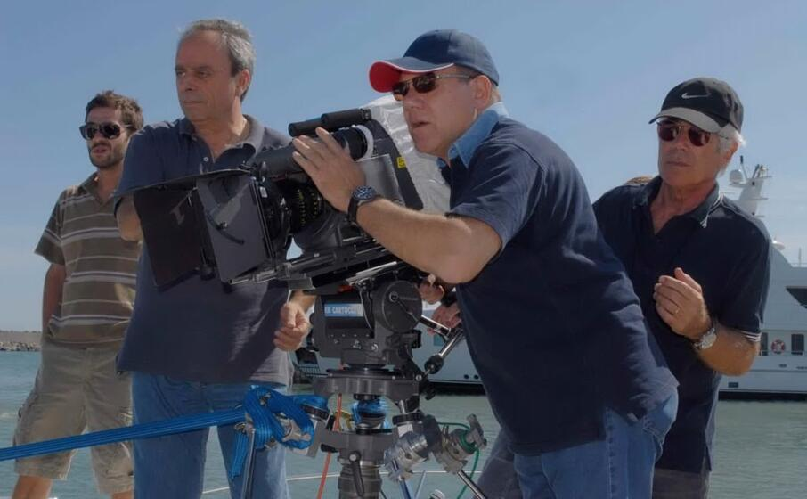 carlo verdone sul set (foto ufficio stampa)